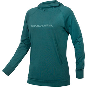Endura SingleTrack Hoodie Women spruce green
